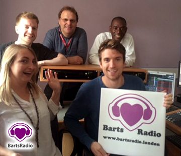 Greg James at Barts Radio